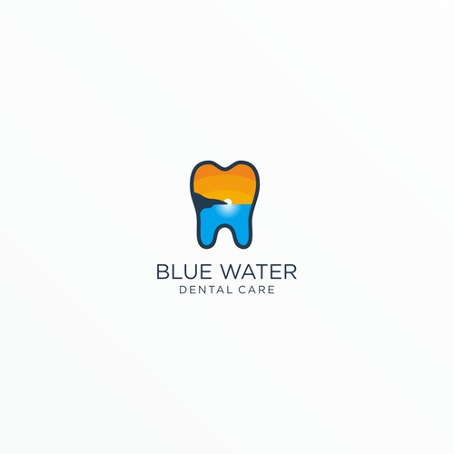 Logo for Blue Water Dental Care
