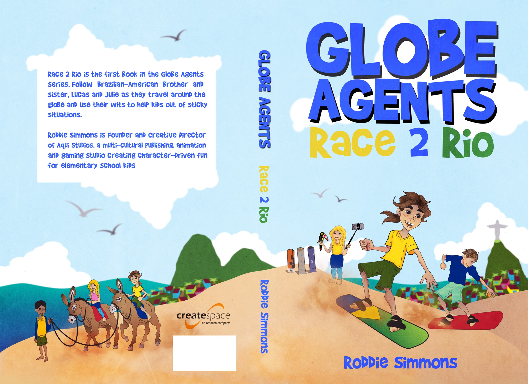 Brand a first in series Brazilian-American Children's Chapter Book.
