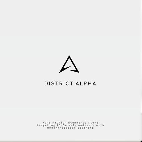 District Alpha Logo