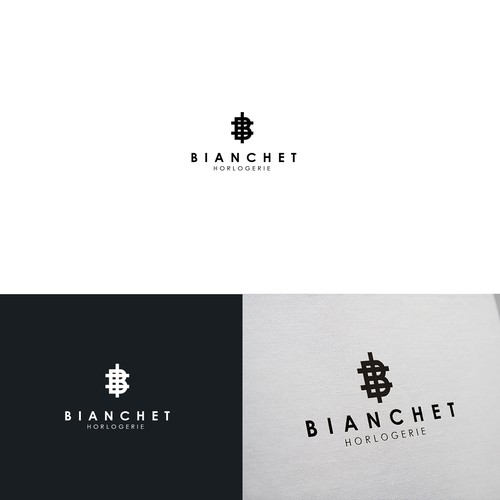 Logo for luxury mens watch