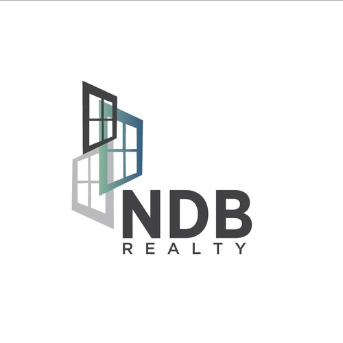 Simple and sophisticated logo for real estate investors.