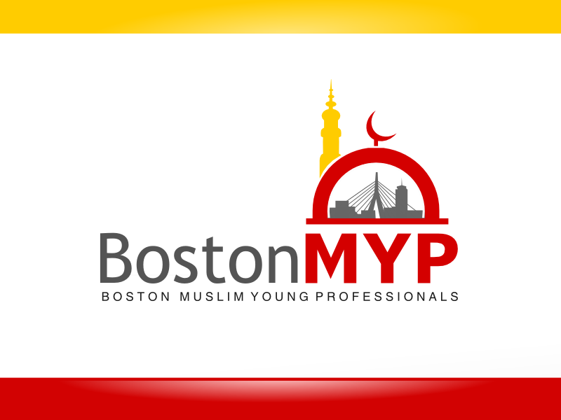 Create a logo for BMYP, a social network of Muslim young professionals in Boston