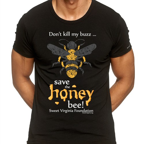 Clothing & Merch design for Honey Bee Non-Profit