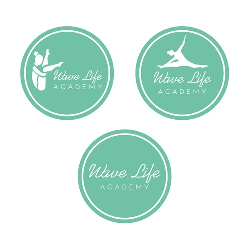 proposal of logo design for yoga academy