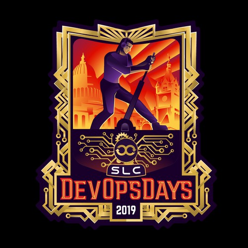 DevOps Days 2019 logo design