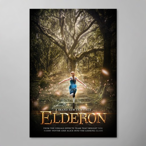 Elderon poster for digital mass film