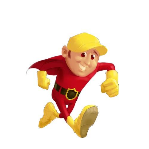 Games hero mascot
