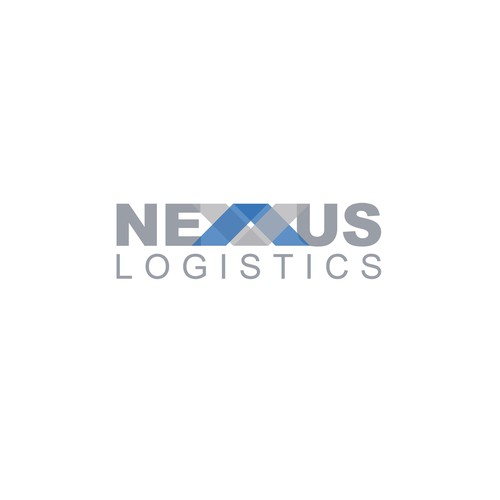 A strong logo for a logistics company