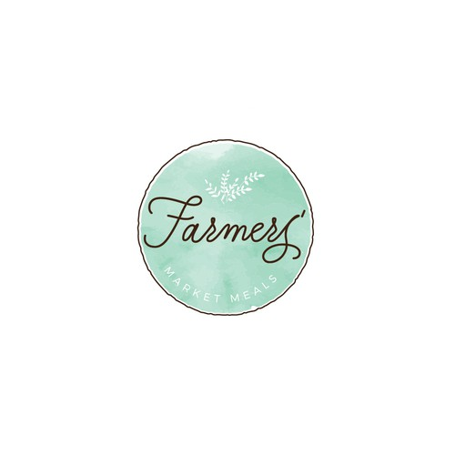 Logo design for a food blog