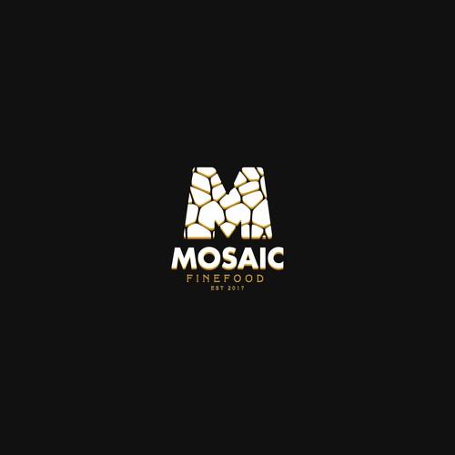 Mosaic Fine Food logo design