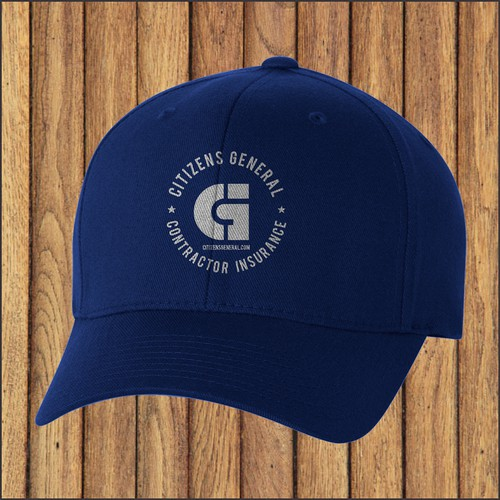 Hip RETRO hat design for a Contractor Insurance Company
