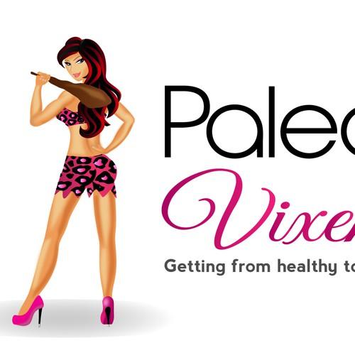 Paleo Vixen Logo