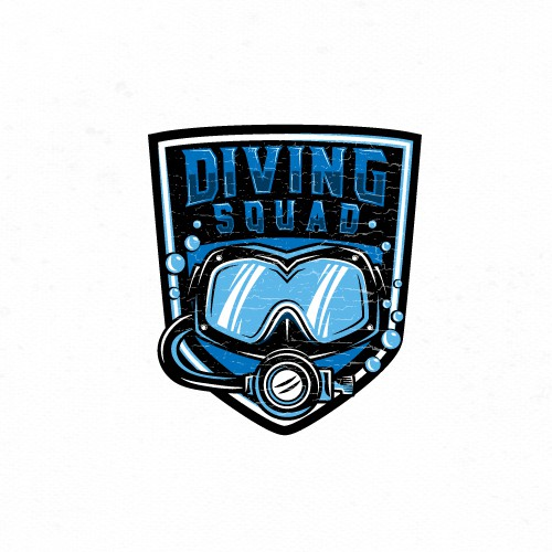 Bold logo for Scuba Diving website.