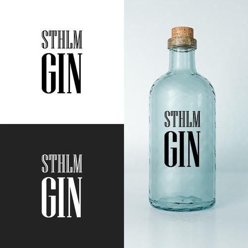 Scandinavian Gin Logo Design