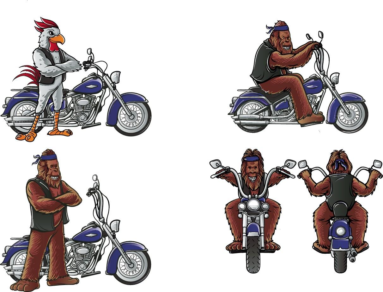 Harley Mascots