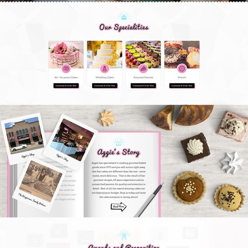 A Unique Bakery Website