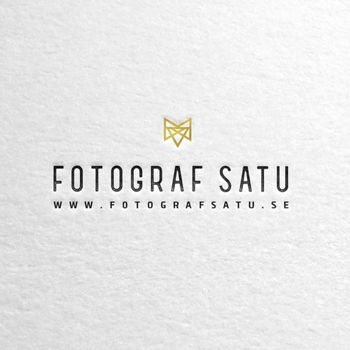 Minimal photography logo
