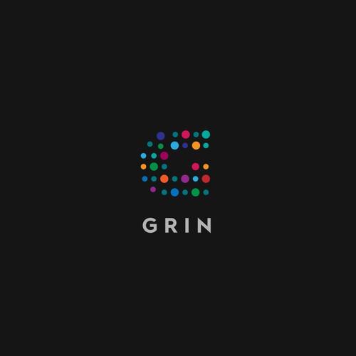 Fun Logo concept for GRIN