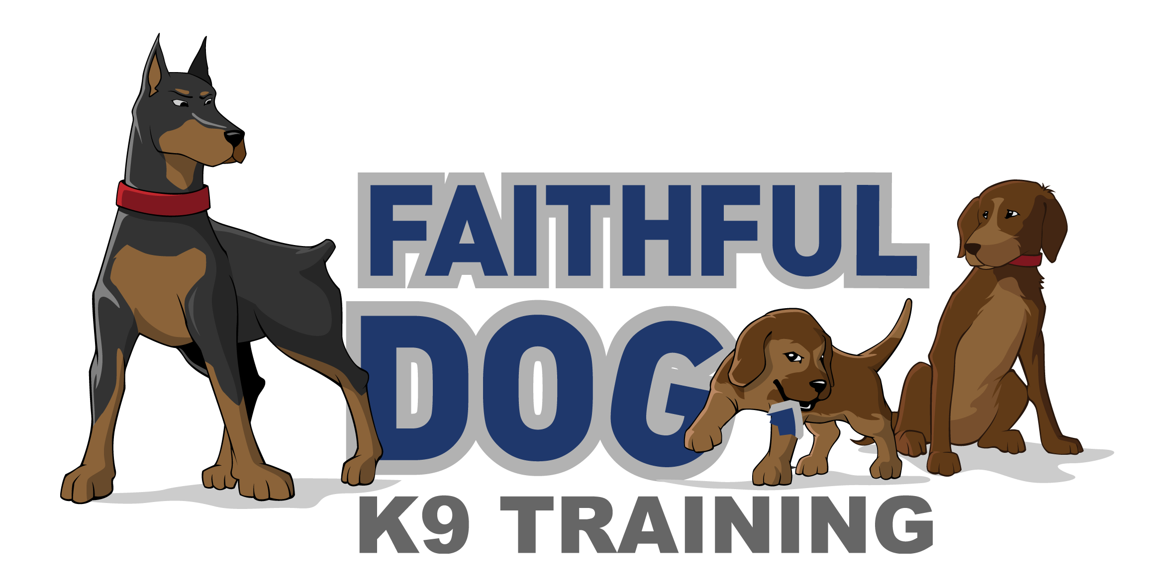 Create the first and only business logo for Faithful Dog K9 Training