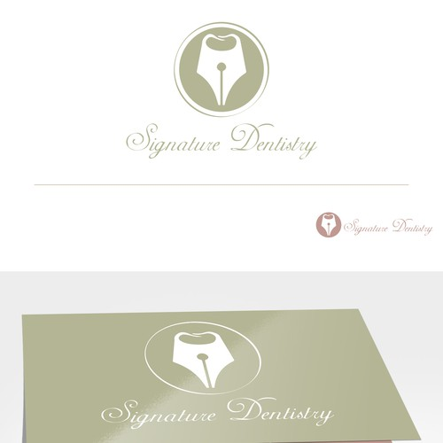 Original! Sharp and creative new logo and brand needed for top notch dental office!