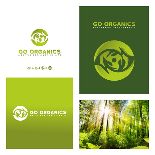 logo for natural and organic company