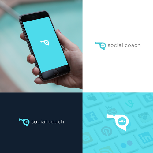 Create a Crisp, Youthful Logo for a Technology Coaching Company