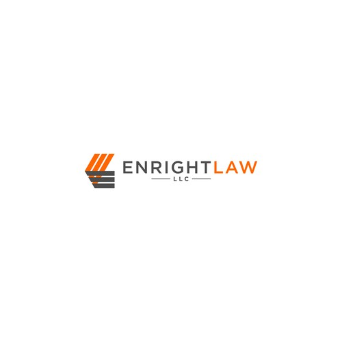 Solo law firm dedicated to enforcing individuals' rights needs a clean, modern, logo.