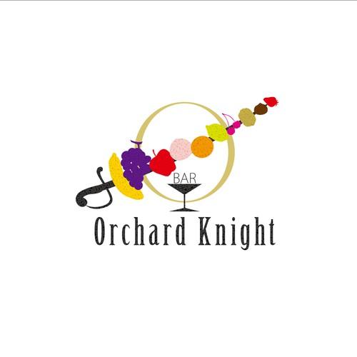ORCHARD KNIGHTのために、カクテルとフルーツをイメージ