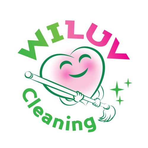 Logo for Wiluv Cleaning