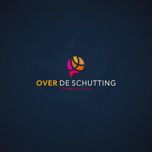 """Over de schutting"" logo"