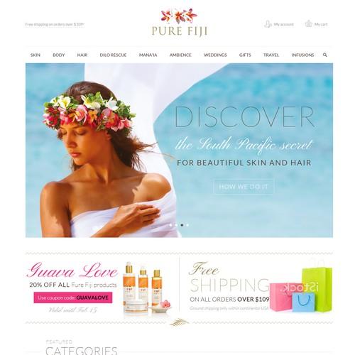Upmarket Spa Brand Requires Clean Responsive Website Revamp -Guaranteed