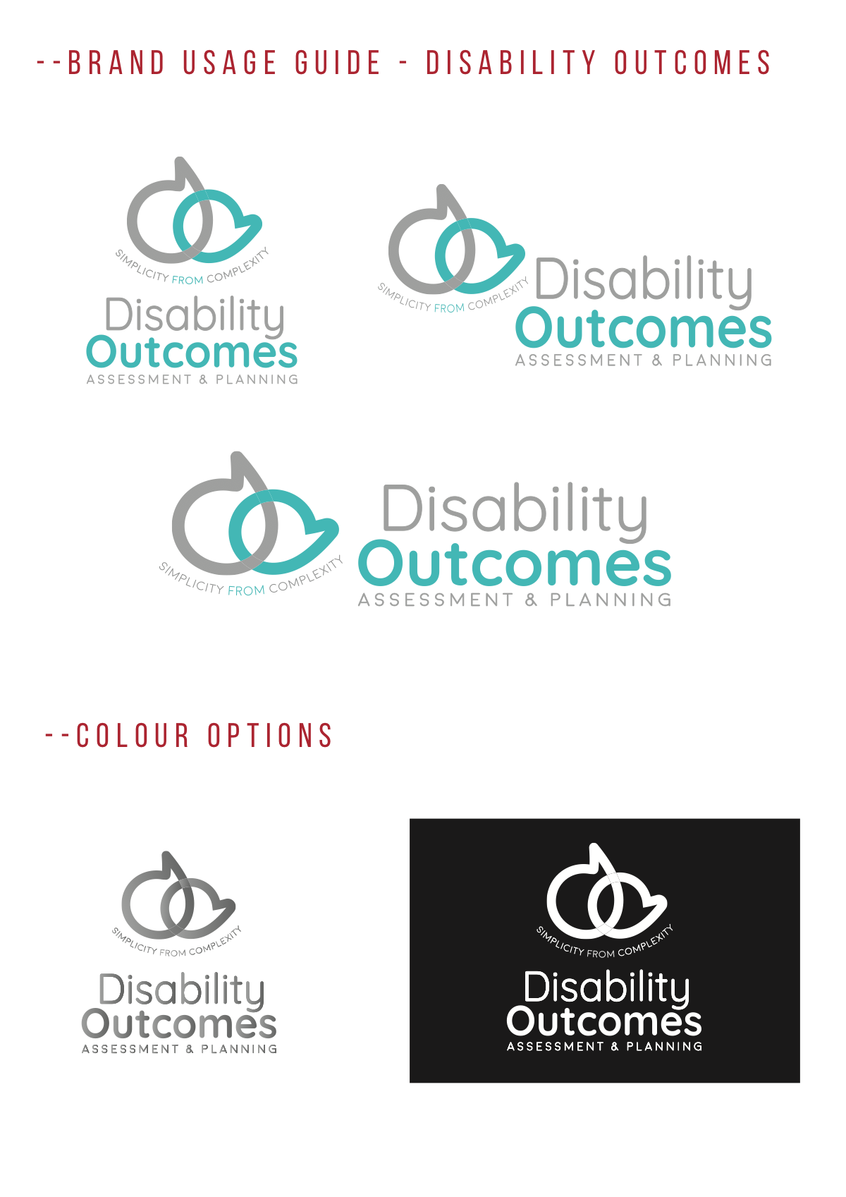 Update to Disability Outcomes