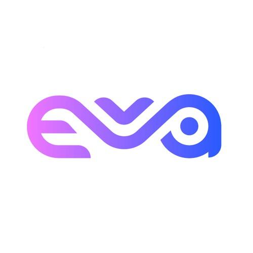 EVA, a logo for a neobank/fintech aslike Revolut.com