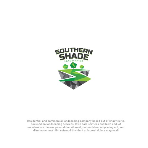 Logo design concept for Landscaping company