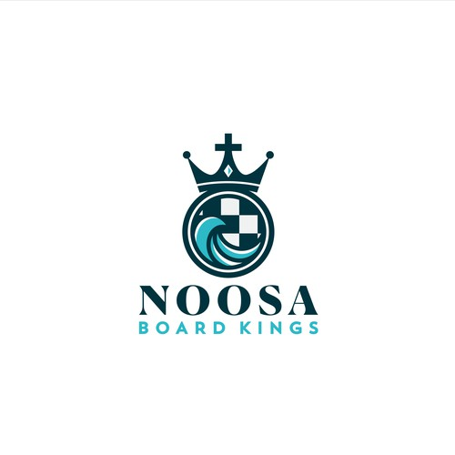 Logo for Noosa Board Kings
