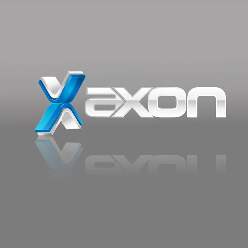 AXON premiere logo of an industrial company