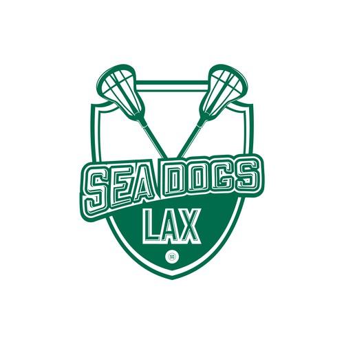 Logo for lacrosse team