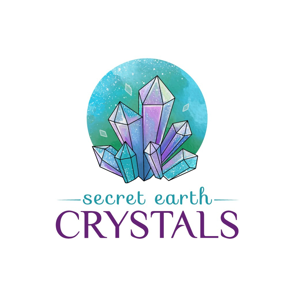 "Design a fun and artsy logo for ""Secret Earth Crystals"""