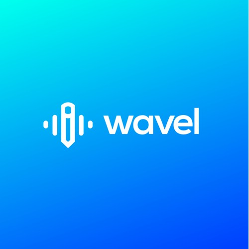 Wavel Logo | Music Logo | Equalizer Logo | Sound Logo | Pencil Music Logo