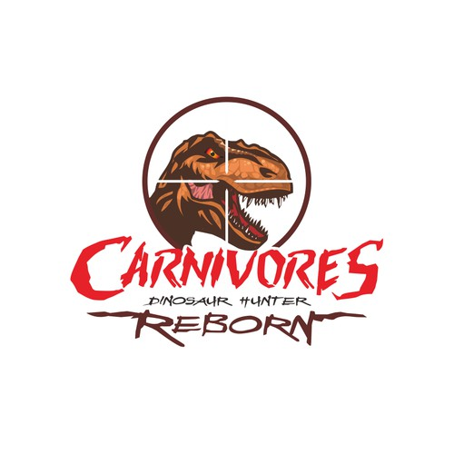 Create an awesome Logo Treatment for the videogame Carnivores Dinosaur Hunter Reborn