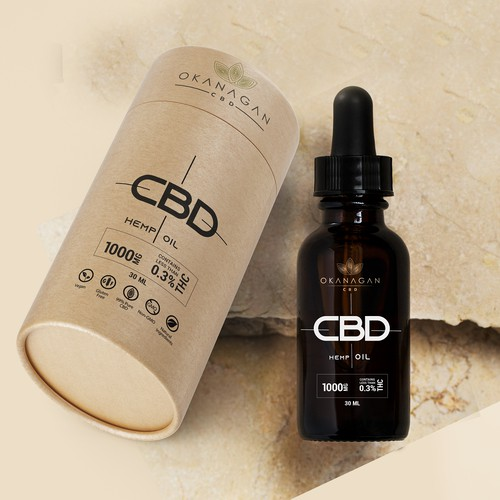 CBD Hemp oil package