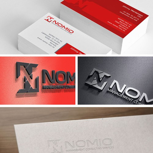 Help NOMIO with a new logo and business card