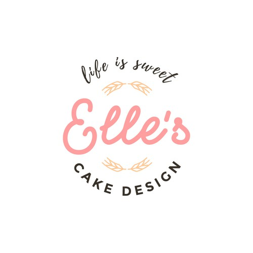 Logo for cake business