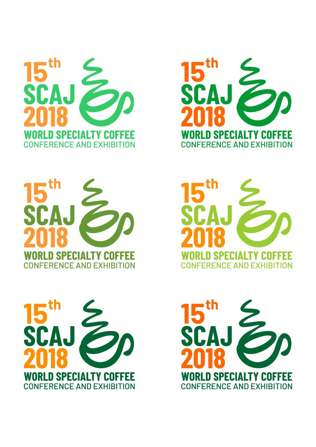 Create the logo for the largest specialty coffee celebration! アジア最大のスペシャルティコーヒーイベント「SCAJ2018」のロゴデザイン