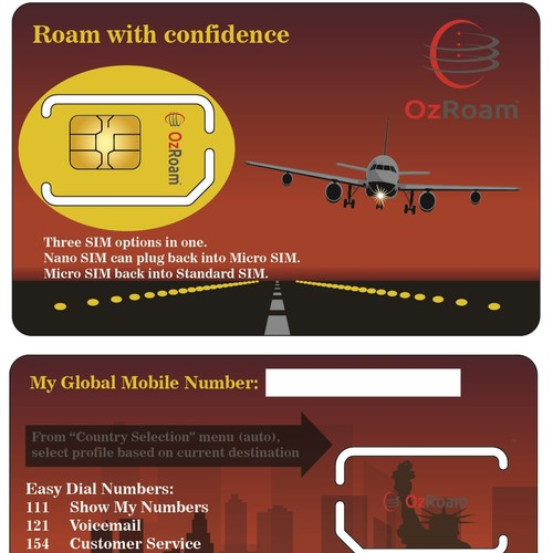 Next Generation Mobile Phone SIM Card Design