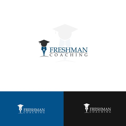 Logo for company that helps college students graduate