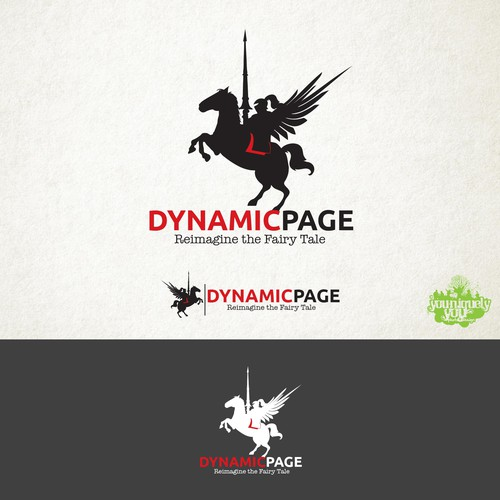 Dynamic Page Logo Concept