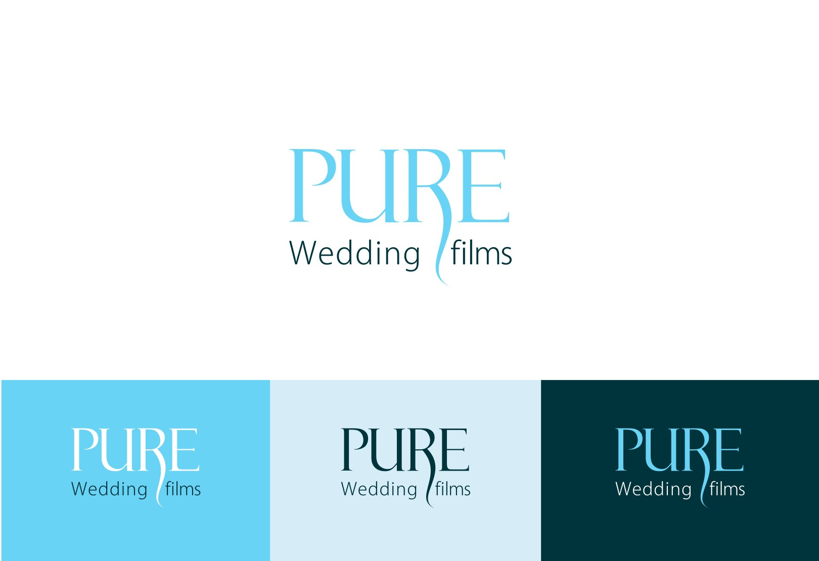 Help PURE Wedding Films with a new logo