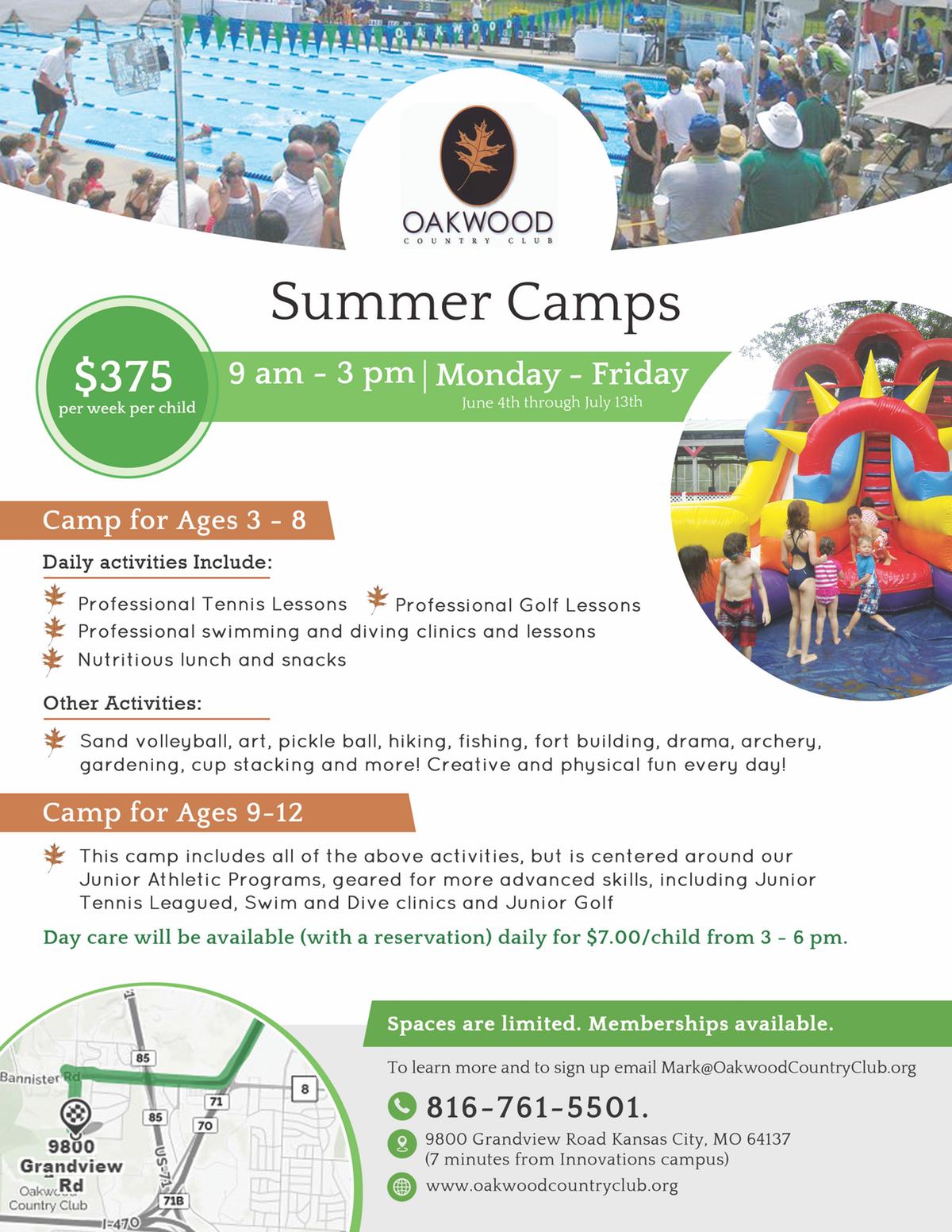 Oakwood - Summer Camp
