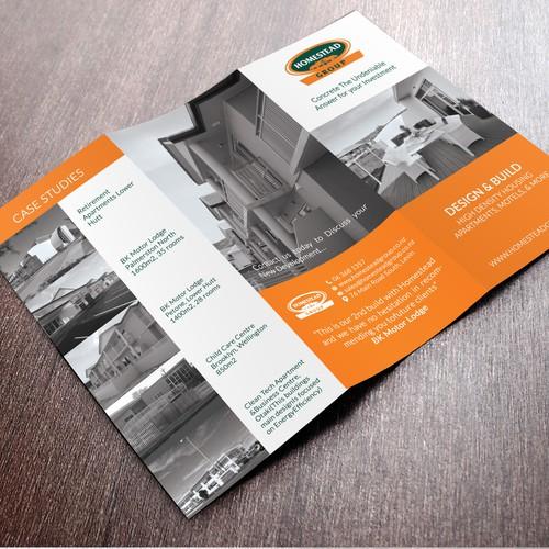 Brochure Design for Interior and Exterior Design Company
